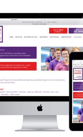 Nieuwe website Fysio Roode