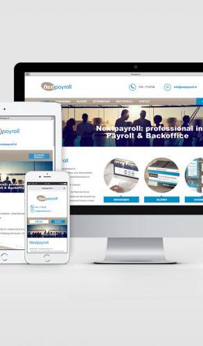Responsive Wordpress website Next Payroll