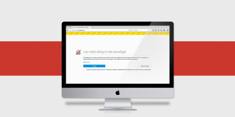 Help: volgens Google Chrome is mijn website onveilig!