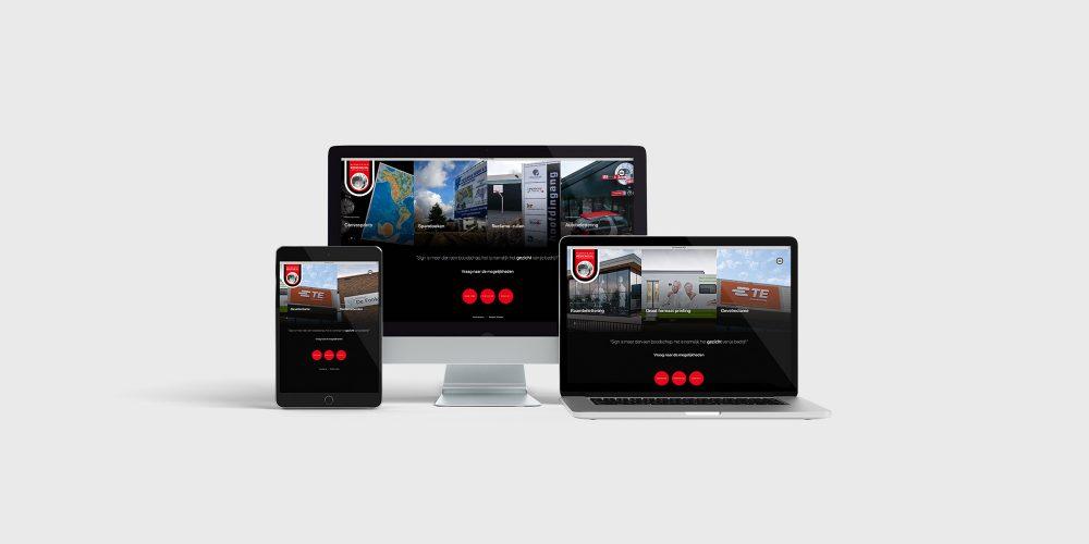 Nieuwe website RS Display & Sign