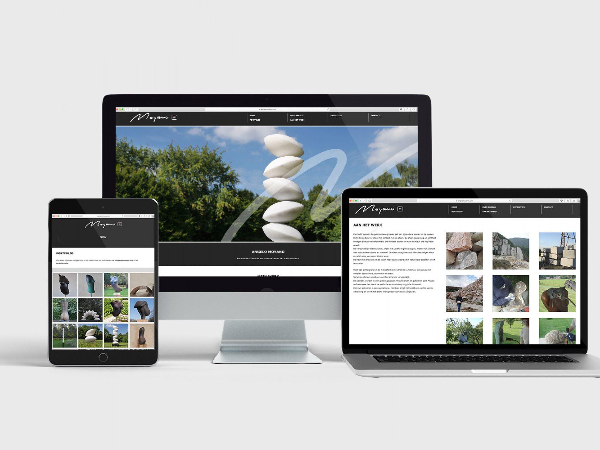 Angelo Moyano WordPress website