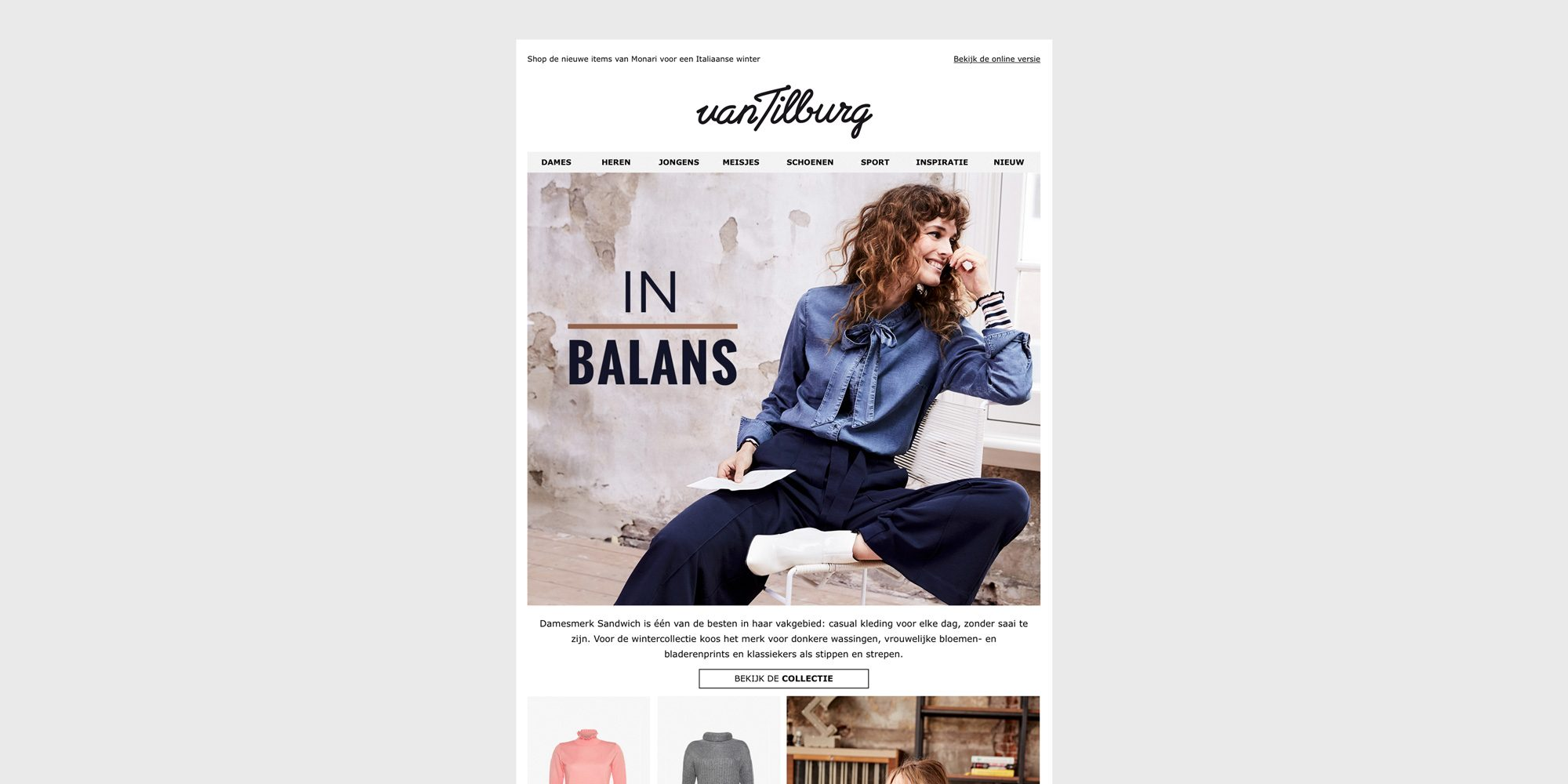 Van Tilburg Online