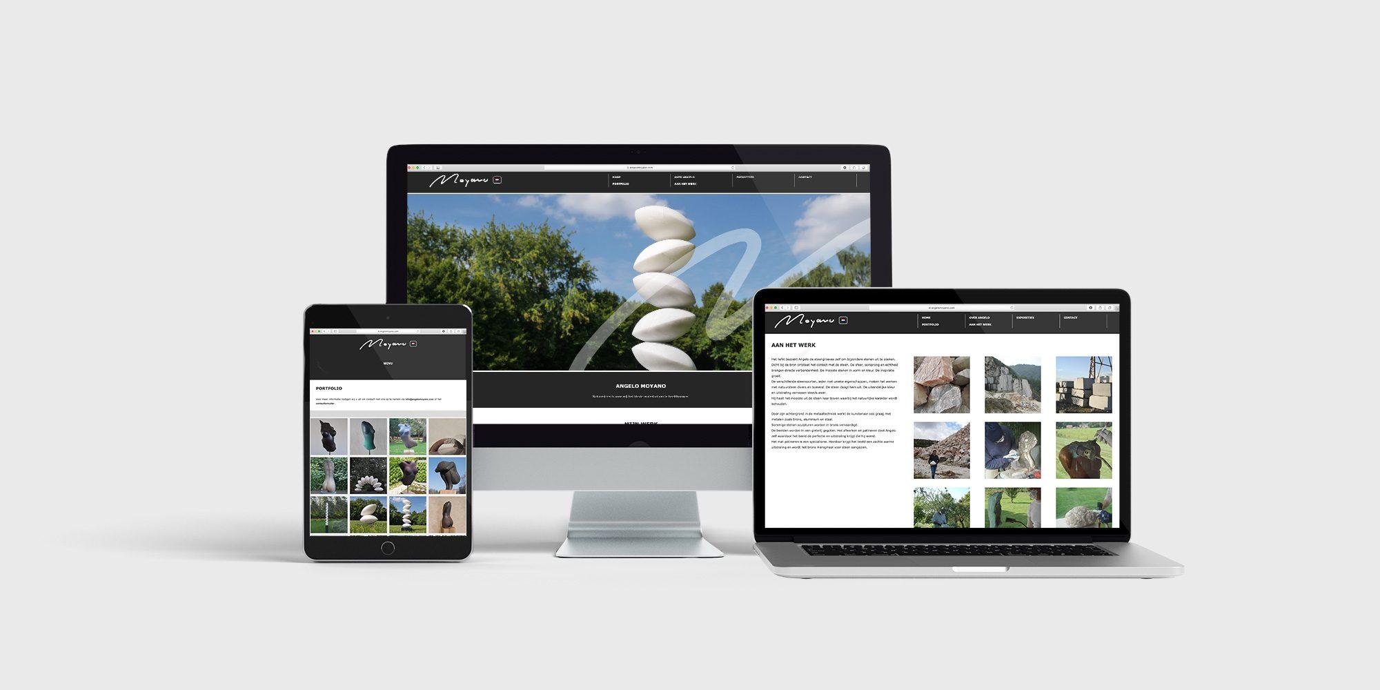 WordPress CMS website Angelo Moyano